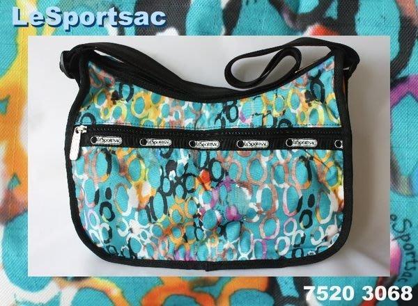 【LeSportsac】100% 全新正品 7520 3068 / AQUARELLE 側肩包 斜背包*美國寄出*