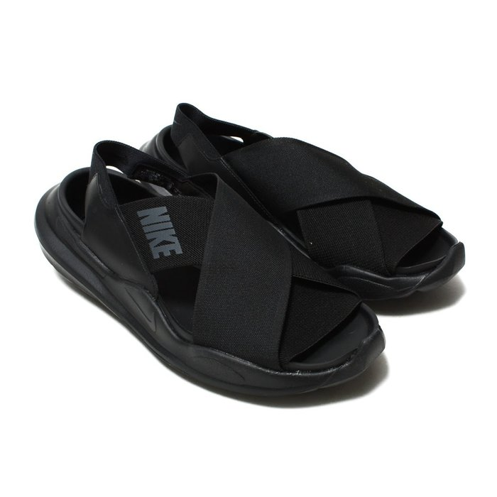 =CodE= NIKE WMNS PRAKTISK 繃帶涼鞋(全黑) AO2722-001 拖鞋 羅馬 鋸齒 武士 女男