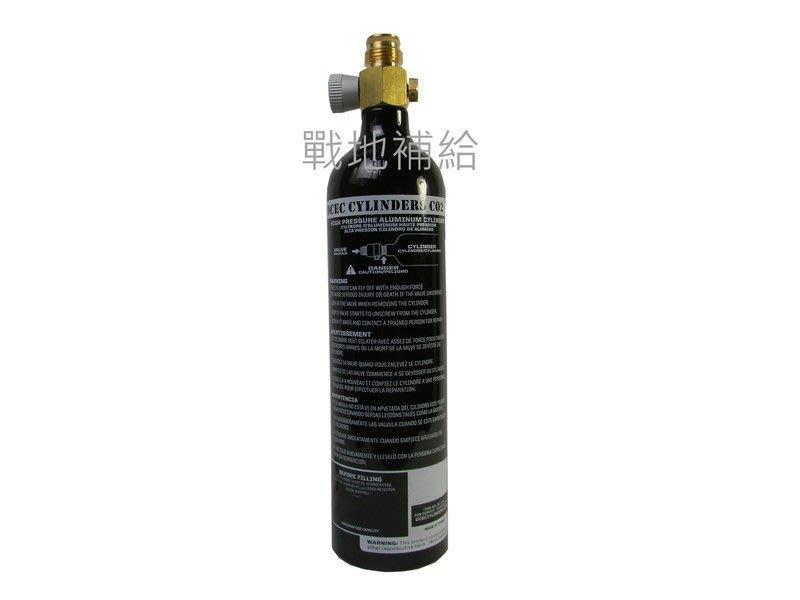 【戰地補給】台灣製經過美國防爆壓力測試1800psi 12OZ鋁合金鋼瓶 ( 含灌CO2)