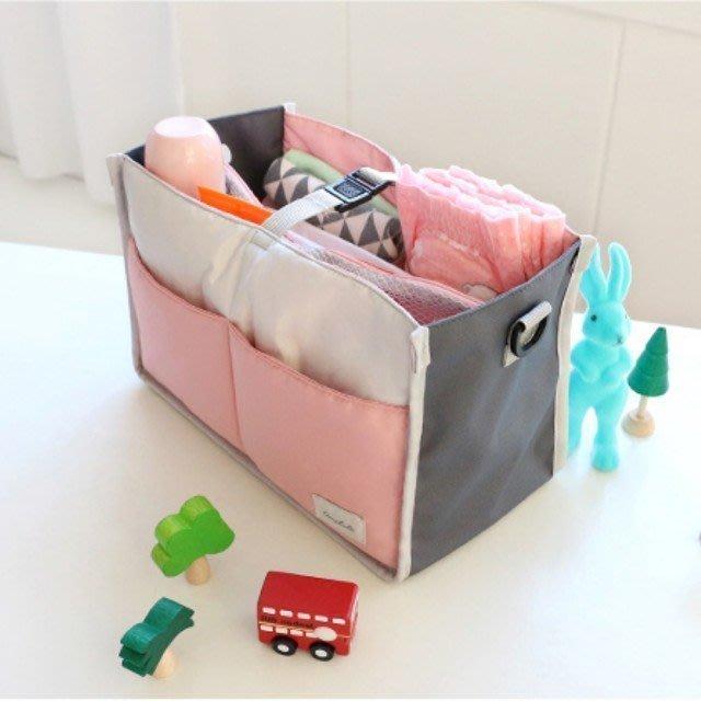 o.buymy 大容量推車外掛媽咪包/包中包/保溫包/媽媽包/多格收納/分隔包/收納袋/多功能收納/嬰兒車專用包