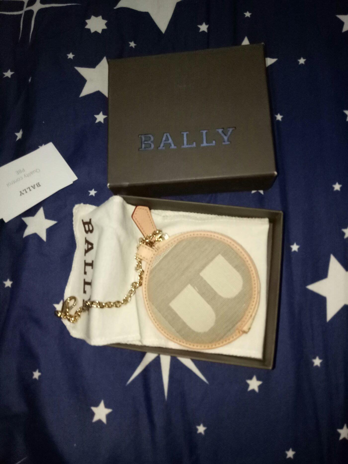 BALLY零錢包8cm