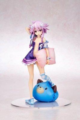 【紫色風鈴】超次元遊戲抱枕海王星涅普迪努小蘿莉美少女1/8 盒裝 港版