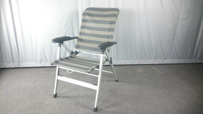 2 張 折疊多段後躺全鋁椅~椅背高可頭靠~露營桌椅~鋁合金不怕日曬雨淋~室內戶外皆好用~[兄弟牌戶外休閒傢俱]直購免運費