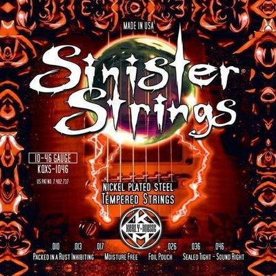 ☆ 唐尼樂器︵☆ Kerly Strings Sinister 系列冰火弦 KQXS-1046 (10-46) 美製電吉他弦