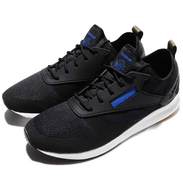 REEBOK ZOKU RUNNER HM 黑 藍 輕量 BD5998 男女鞋