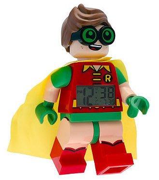 美版現貨【LEGO 樂高】2017年最新 全新正品/ 蝙蝠俠電影 羅賓鬧鐘 Robin 數字時鐘 人偶鬧鐘 公仔 含外盒