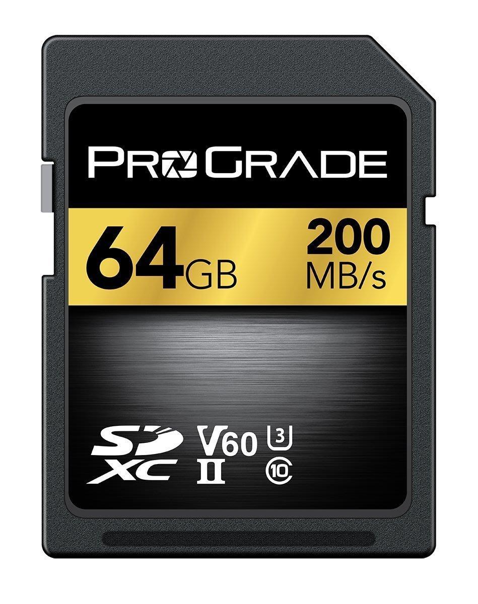【竭力萊姆】預購 ProGrade SDXC UHS-II 64GB V60 記憶卡 200MB/s 新Lexar