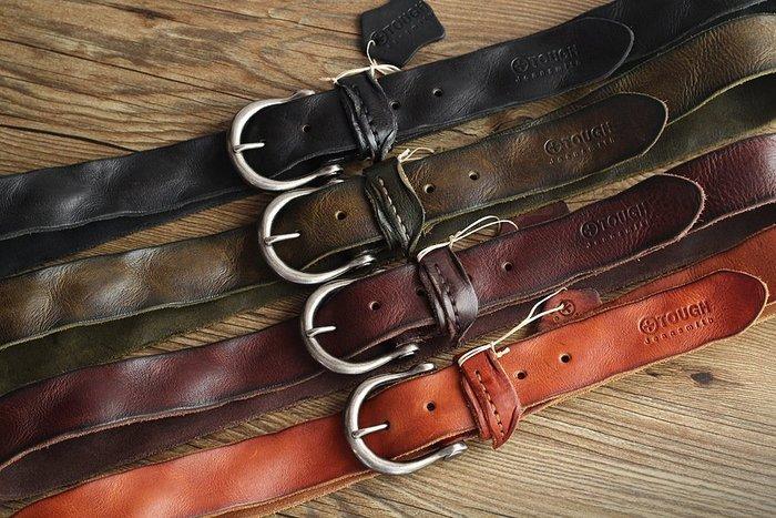 『老兵牛仔』CK-1012新款時尚百搭真皮皮帶男士/頭層牛皮/復古/彈力/耐拉/個性