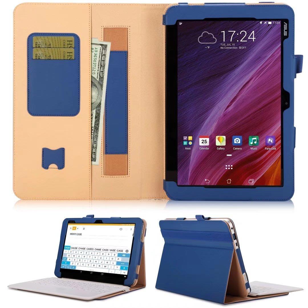華碩TransBook Mini T103HAF放鍵盤位商務平板皮套支架手托可插卡皮套