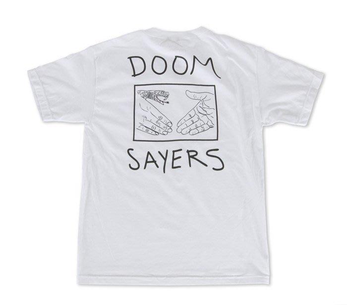 《Nightmare 》DoomSayers Club Snake Shake Pocket Tee - White