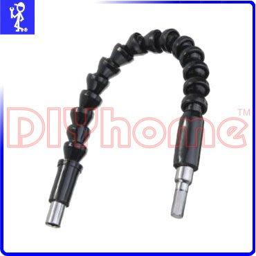 DIYhome  萬向彎管式 可彎曲延長蛇管 六角柄  一般電鑽充電電鑽   K2030