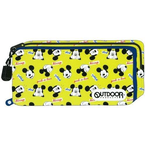 [代購-預購] OUTDOOR 迪士尼 米奇 文具筆袋 收納包
