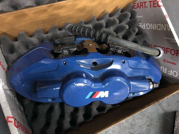 國豐動力 BMW F20 F30 F34 PERFORMANCE 藍色煞車組全車份 現貨 新車拆下 前四 後二活塞
