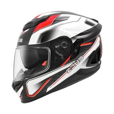 ZEUS 瑞獅安全帽,ZS-1600,AK4/紅~送鏡片