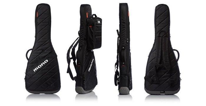 ☆ 唐尼樂器︵☆原廠 MONO M80 VERTIGO 頂級專業款電吉他厚琴袋(防潑水/防震)黑色款