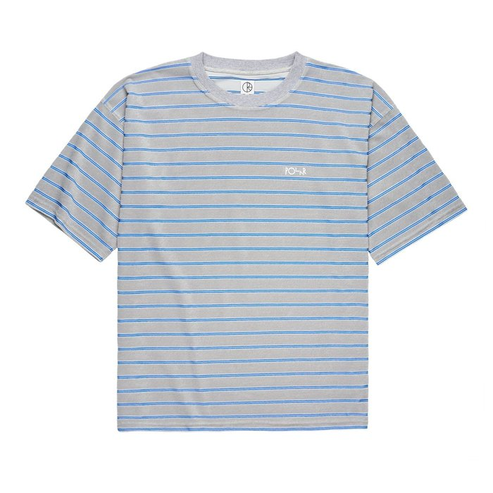 《Nightmare 》Polar Skate Co STRIPED TERRY SURF TEE