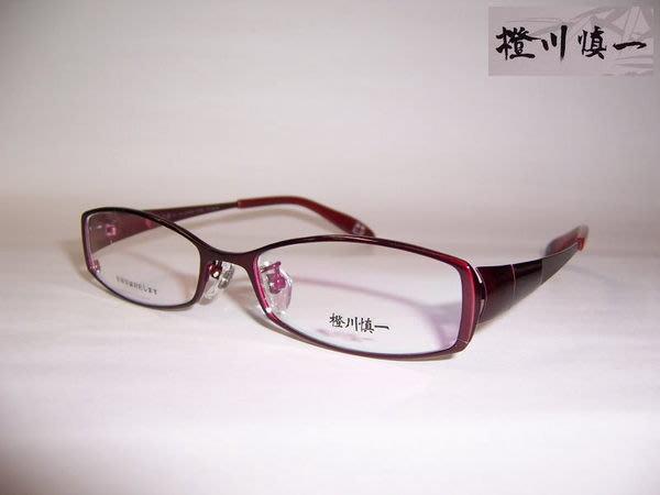 光寶眼鏡城(台南) 橙川慎一*手造純鈦造型眼鏡*特殊造型腳(橙27,D33紅
