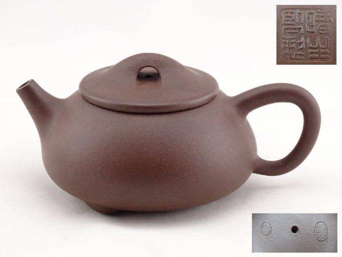 [[ 茶壺 ]] 紫砂 暗生 石漂壺(No.2) 早期收藏,喜歡就帶走