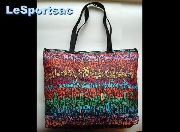 【LeSportsac】6526(7862) 4665 ZIPTOP SHOPPER / SCAN 側肩 購物包*全新正品,美國寄出*