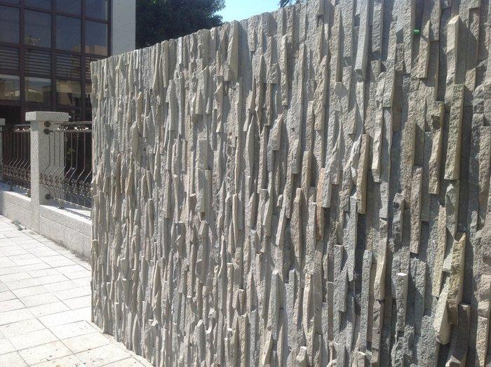TKS台中市北區太原路一段428~光南精緻工程行~板岩層岩鐵平石工程