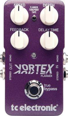 ☆ 唐尼樂器︵☆ TC Electronic Vortex Flange 單顆 效果器