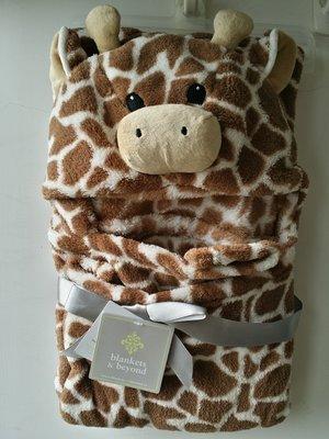 【美國品牌】100% 全新正品 嬰幼兒 輕柔舒眠 極柔絨毯/ 毛毯/ 抱毯/ 萬用毯 冷氣房可用 彌月禮 BAB02