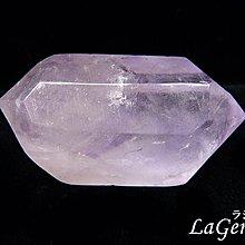 【寶峻水晶】天然雙尖紫水晶柱MS-737 98g薰衣草紫 平衡連結能量~開智慧能量風水石