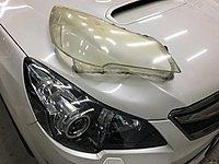 翔宸自動車 大燈鏡面更換工程 燈罩換...