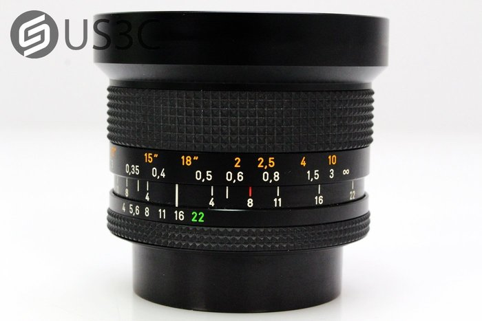 【US3C】Carl Zeiss Distagon 18mm F4 T* For Contax 蔡司鏡 定焦鏡