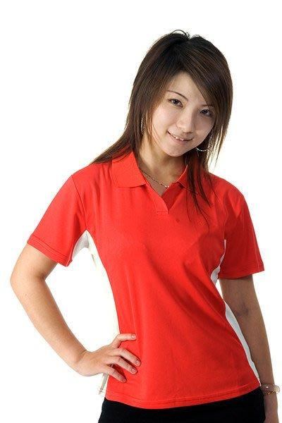 「喜樂屋戶外」台灣製造女款短袖POLO排汗衫排汗衣抗UV透氣、快乾、不黏身 #25 零碼出清 團體服訂製