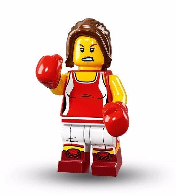 現貨【LEGO 樂高】美國正品 積木/ Minifigures人偶包系列: 16代 71013 單一人偶: 女拳手