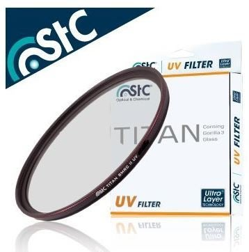 晶豪泰 【STC】TITAN UV Filter 67mm 輕薄強韌 特級強化保護鏡 康寧 大猩猩 3代