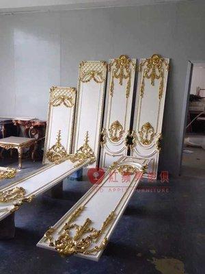 [紅蘋果傢俱] 建材 裝潢 新古典 歐式 別墅建材 大門 木線條 壓邊 腰線 尺寸可以訂製 可訂色 實體賣場