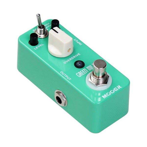☆ 唐尼樂器︵☆ Mooer Micro Series Green Mile Overdrive 電吉他/電貝斯 Bass 過載破音效果器