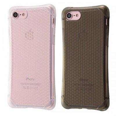 尼德斯Nydus 日本正版 四角強化 衝擊吸收 透明 格紋款 TPU 軟殼 手機殼 5.5吋 iPhone7 Plus