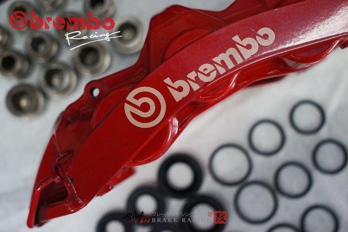 拒收仿冒品 brembo GT6 六活塞 卡鉗清潔、維修、保養、原廠油封、來令片、客製烤漆 塗裝 歡迎詢問 / 制動改