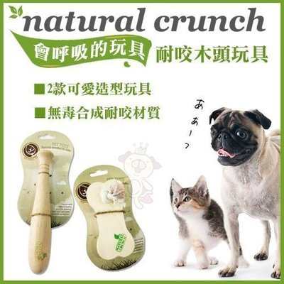 【今日我最低】=白喵小舖=Natural Crunch《會呼吸的玩具系列》益智食盒/棒球棍 二款可選