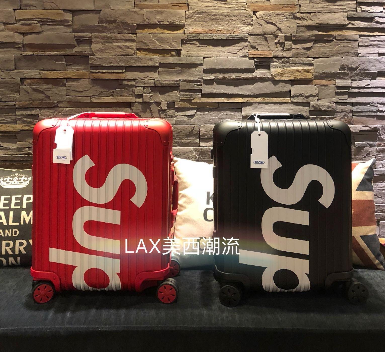 【LAX美西潮流】100%全新真品 Supreme X Rimowa  45L登機箱 ,歡迎詢問 實品超美