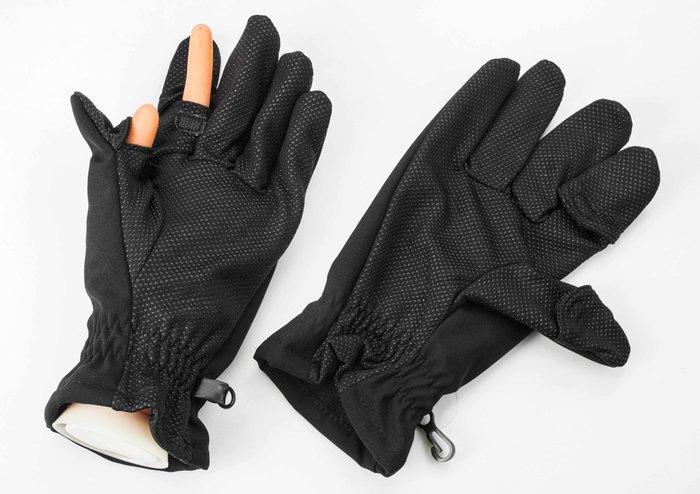 呈現攝影-SAFROTT0 攝影禦寒手套 L / XL號 黑色 攝影手套 可露指 縮時 雪景 星軌 北南疆 冰島 極光