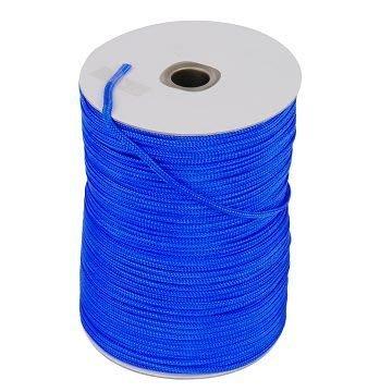 【TRENY直營】台灣製造 尼龍繩3mm藍色1尺(660尺/捲) PE繩 尼龍繩 安全 居家 繩子 2817