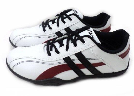 美迪-跑天下系列-0638運動休閒鞋~白款-台灣製~輕便款~