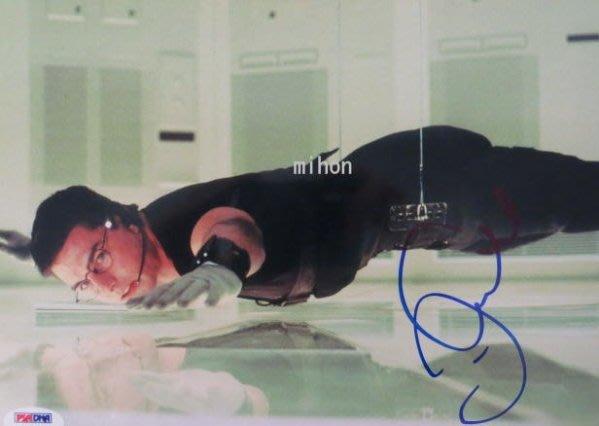 湯姆克魯斯TOM CRUISE 簽名照