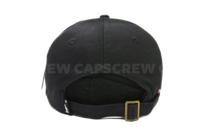 776281daad5  ScrewCap 現貨Stussy Stock Low Cap 黑色老帽