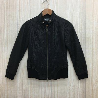【愛莎&嵐】wanko 女 黑色俐落率性夾克外套 / 34 1061117