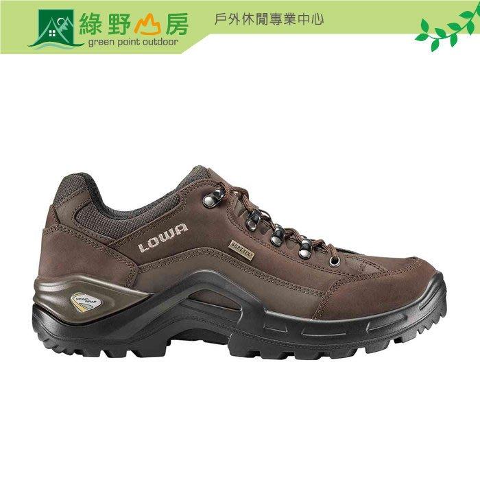 綠野山房》Lowa 德國 男款 Renegade II GTX 低筒防水登山鞋 GTX 健行鞋 棕色 LW310953