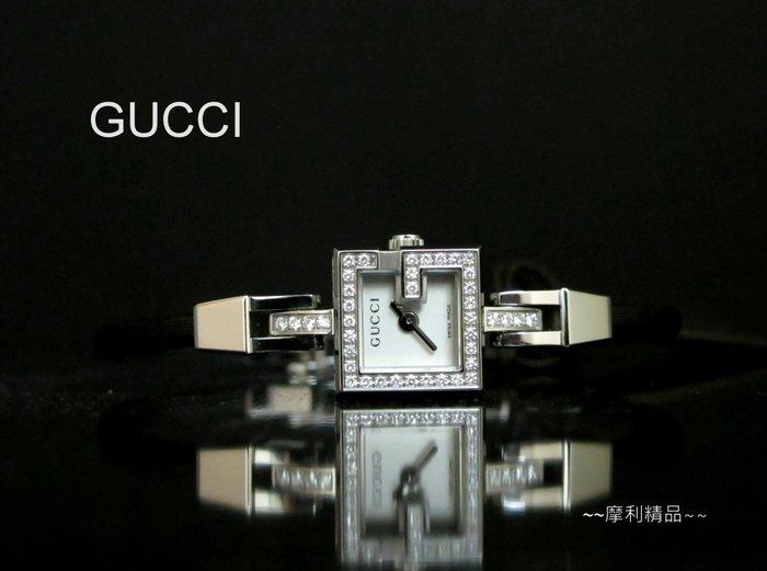 【摩利精品】GUCCI 102滿鑽女錶 *同系列最高級數* 低價特賣