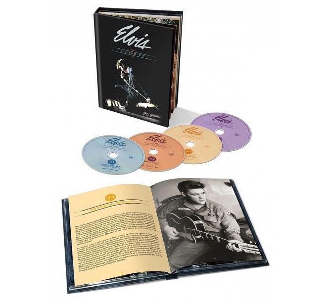 合友唱片 面交 貓王 Elvis Presley / 巨星風采 (4CD) Elvis: Close Up (4CD)