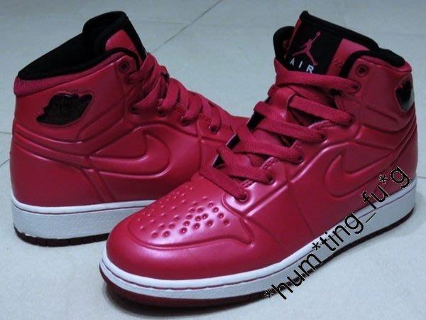 size 40 b8740 5112a 正版Nike GS Air Jordan 1 Anodized Voltage Cherry Foamposite 439665-601 (23.5  CM)