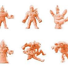 扭蛋 筋肉人 Kinnikuman 筋肉人 parts 06 キン肉マン 肉色 全6種