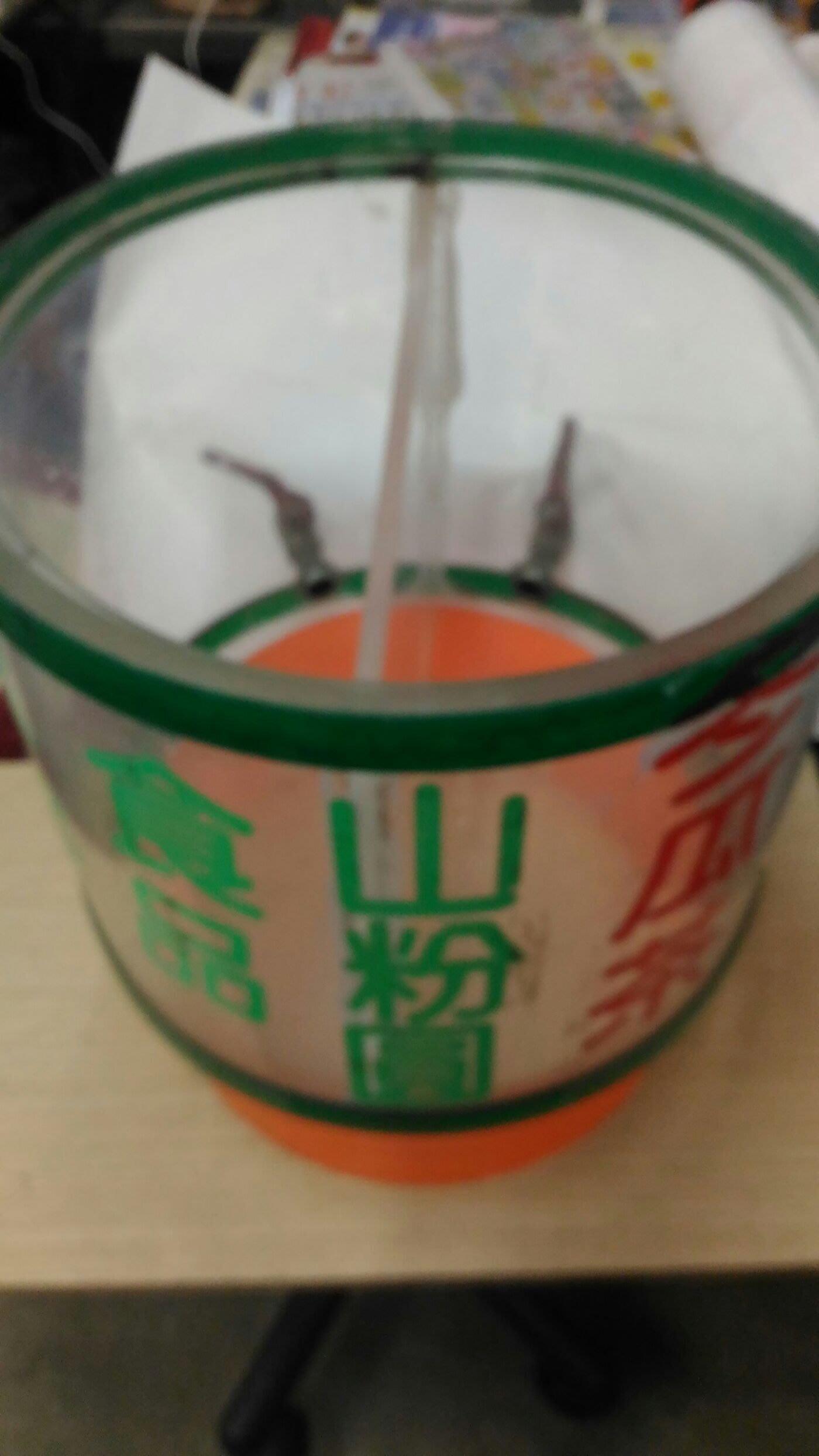 南門餐廚設備拍賣 夜市路邊攤專賣飲料的二手壓克力飲料桶有附水龍頭厚15 mm兩格飲料桶 愛玉冰飲料桶